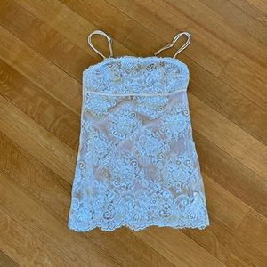 Intimissimi Lingerie Lace Nightgown Size M